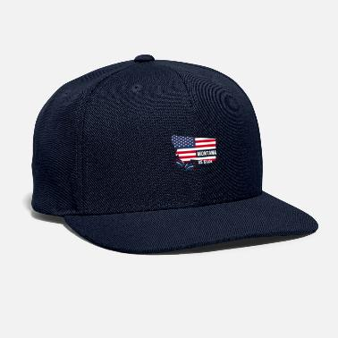 Us State Montana US State - Snapback Cap