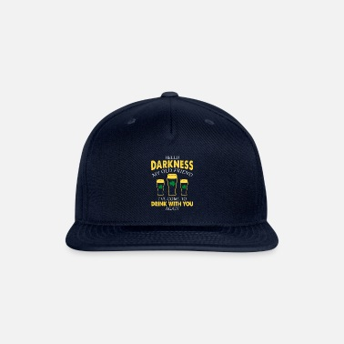 Friend Hello Darkness My Old Friend I ve Come To Drink - Snapback Cap