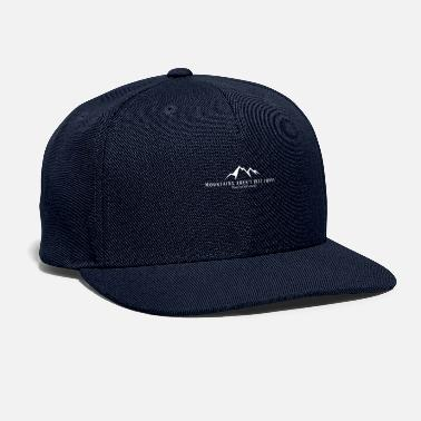 Mountains are not funny - Snapback Cap