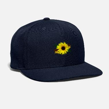 sunflower, sunflowers, flower, bloom, floral petal - Snapback Cap