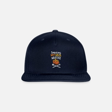 Kebab Master Of The Smoking Hot Grill Sergeant Barbecue - Snapback Cap