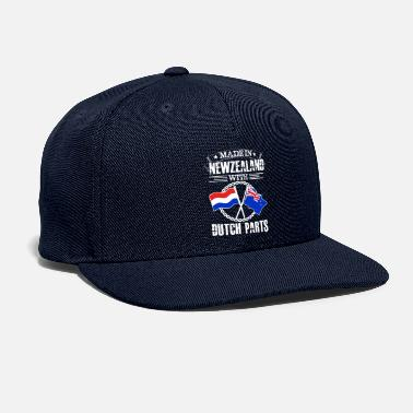 Made in newzealand with dutch part - Snapback Cap