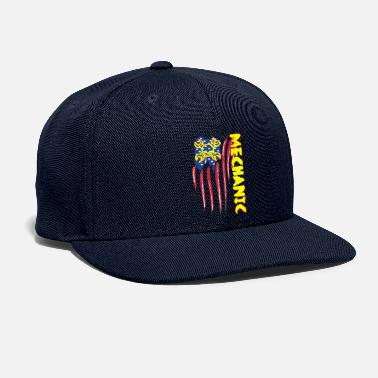 Wrench American Mechanic Skull Wrench - Snapback Cap
