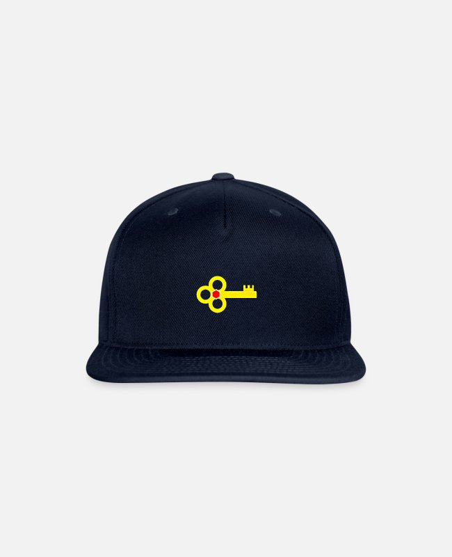 "Secret Caps & Hats - ""Ramseys Secret Key"" - Snapback Cap navy"
