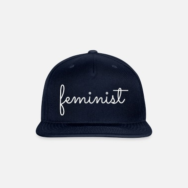 Anti Gay society women flowers quote bubbsnugg rose - Snapback Cap