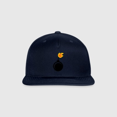 explosive - bomb - fire - Snap-back Baseball Cap