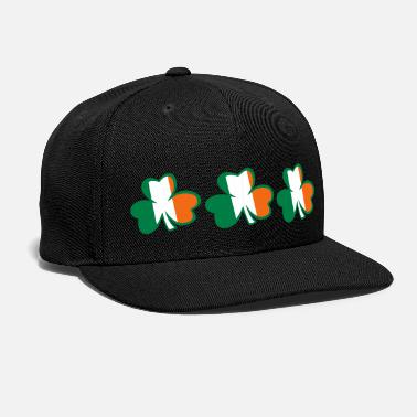 I Love Ireland Irish Forever My Heart Beat For ♥ټ☘Kiss the Irish Shamrocks to Get Lucky☘ټ♥ - Snapback Cap