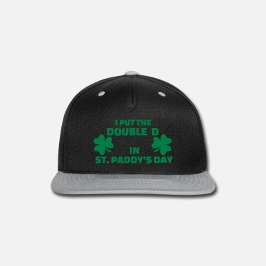 Paddy Day St. Paddys day - Snapback Cap