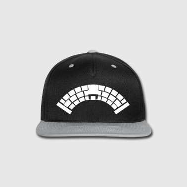 A Bridge simple with medieval stonework  - Snap-back Baseball Cap