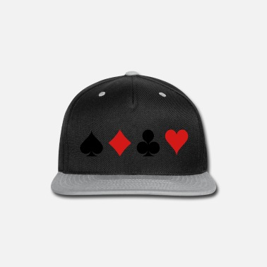 Cards Card Game - Playind Card - Snapback Cap