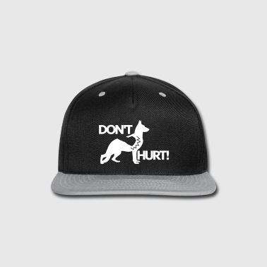 Dont touch my Dog - Snap-back Baseball Cap