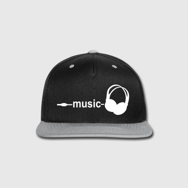 Music - Snap-back Baseball Cap