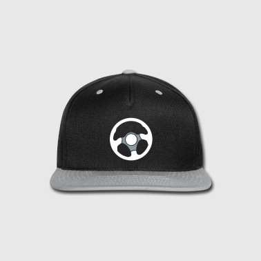 Wheel of a car Drivers wheel control - Snap-back Baseball Cap