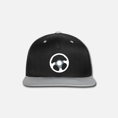 Wheel Wheel of a car Drivers wheel control - Snap-back Baseball Cap