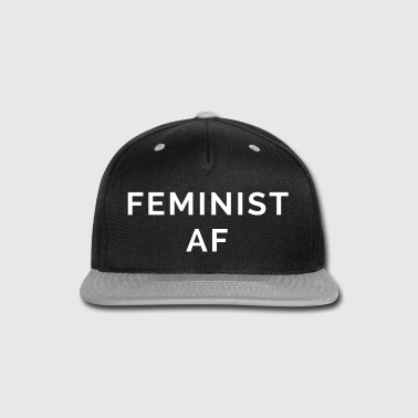 Feminist AF Quote - Snap-back Baseball Cap