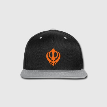 Khanda - Snap-back Baseball Cap