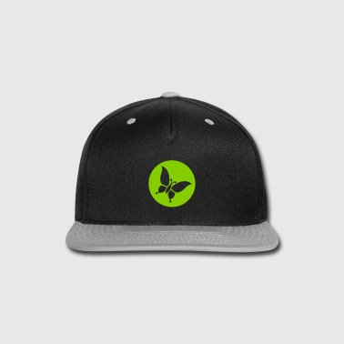 butterfly - Snap-back Baseball Cap