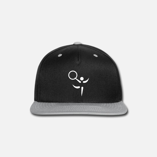 Wife Caps - Gymnastics - Snapback Cap black/gray