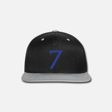 Baseball Players ★Cool Number Seven 7-Best Uniform Number-7★ - Snapback Cap