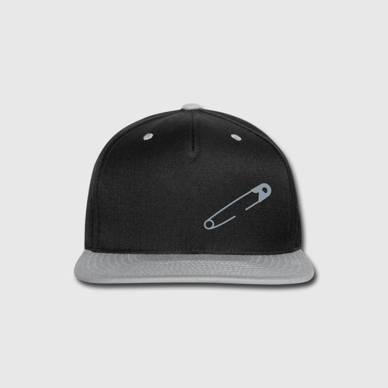 Safety pin - Snap-back Baseball Cap