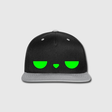 Displeased Cap (Green+Grey) - Snap-back Baseball Cap