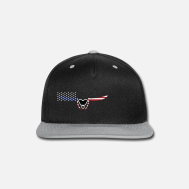 Bell American freedom associated with USA flag 31 - Snapback Cap