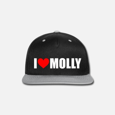 Molly I love molly - Snap-back Baseball Cap