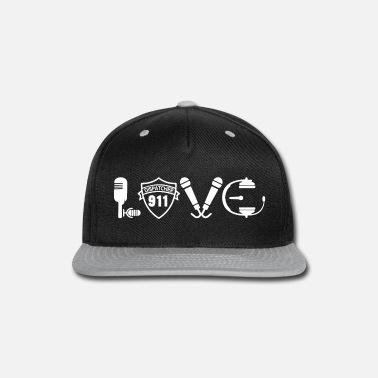 911 Dispatcher Love 911 Dispatcher Shirt - Snapback Cap