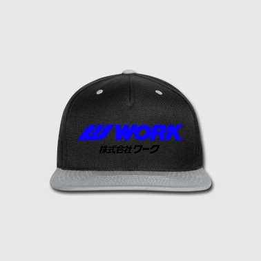 Work Wheels - JDM - Snap-back Baseball Cap