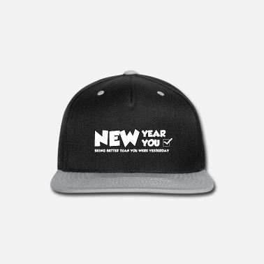 New Years Day NEW YEAR NEW YOU - Snap-back Baseball Cap