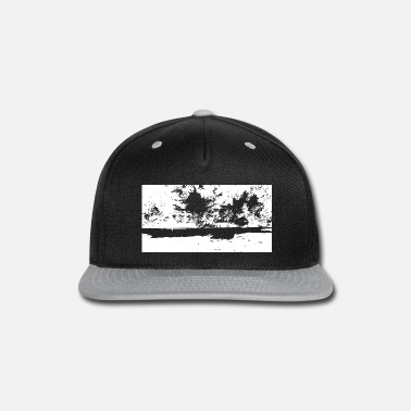 Idyll a glade with a pavillion - Snapback Cap