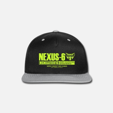 Blade Runner Movie Nexus-6 More Human Than Human Blade Runner Corp - Snapback Cap