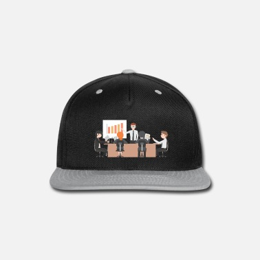 The Office office - Snap-back Baseball Cap