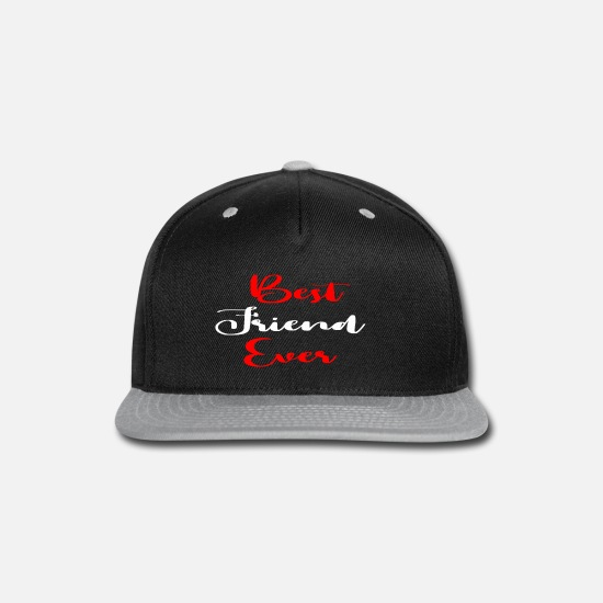 Best Man Caps - Best Friend Ever - Snapback Cap black/gray