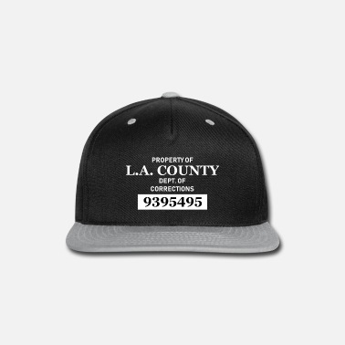 Los Angeles County Sheriff Property of LA County Jail - USA - Los Angeles - Snapback Cap