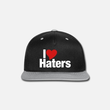 I Love Haters I Love Haters - Snap-back Baseball Cap