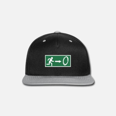 Emergency Exit Portal Gamer Emergency - Snap-back Baseball Cap