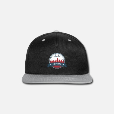 Ny New York City Skyline - Snapback Cap