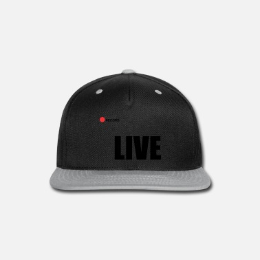Record Champion Live record - Snap-back Baseball Cap