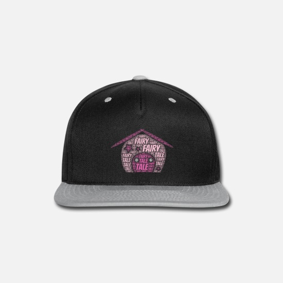 Birthday Caps - Fairy Tale | Presents - Snapback Cap black/gray