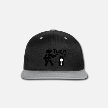 Turn On turn on the music - Snap-back Baseball Cap