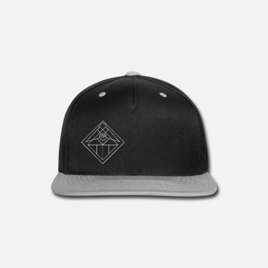 Psychedelic All Seeing Eye White Variant - Snap-back Baseball Cap
