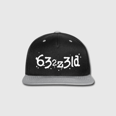 Bless You Blessed - Typed Characters - PrimeMeTee - Snap-back Baseball Cap