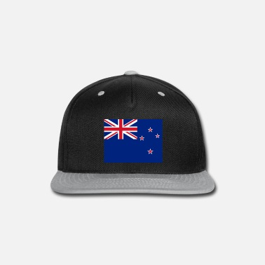 Zealand New Zealand Flag - Snapback Cap