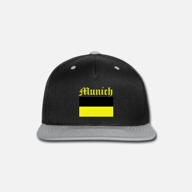 Munich munich design - Snap-back Baseball Cap