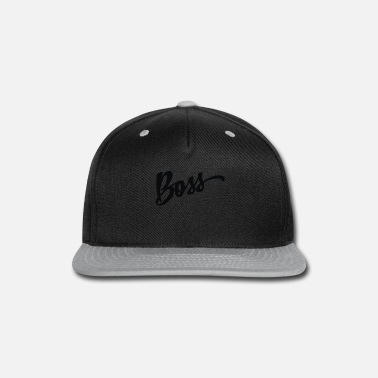 Boss boss - Snap-back Baseball Cap