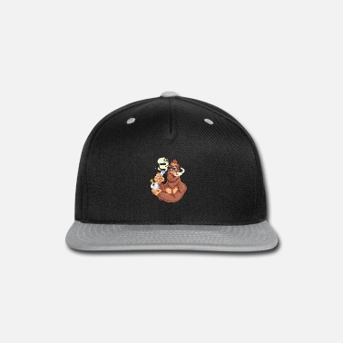 Smoke Weed Smoking Weed Bong Bigfoot - Snap-back Baseball Cap