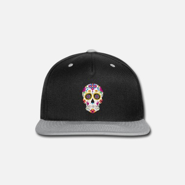 Day Sugar Skull Day of the Dead Color - Snapback Cap