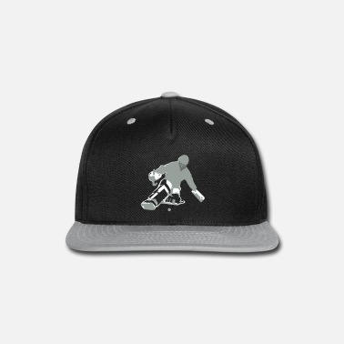 Hockey Goalie - Snap-back Baseball Cap