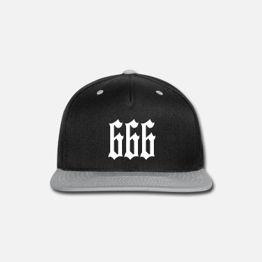 Satanic 666 Number of the Beast Satanic Design - Snapback Cap 0c06991bb0